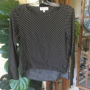 Philosophy Polka Dot Top xs